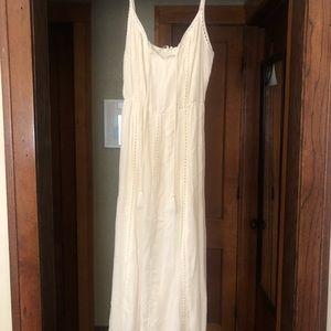 NWT Lush boho style peasant dress with tassels